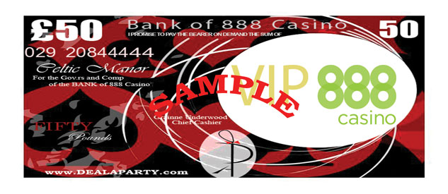888 Casino - VIP Casino at the Celtic Manor, Newport