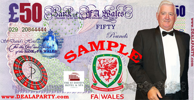 Football Association of Wales Fun Casino Money - The St David's Hotel & Spa, Cardiff