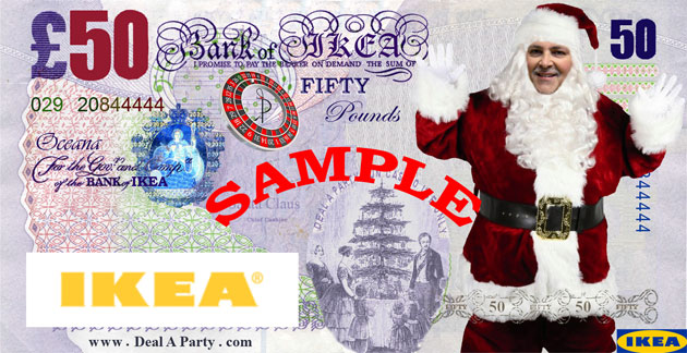 IKEA Cardiff Christmas Casino Party