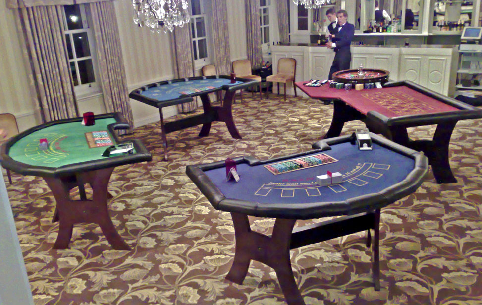 Bath Spa Hotel Image 2 - The chosen venue for the  England Rugby World Cup Squad 2007 - 2 X Blackjack Tables, 1 X Roulette & 1 X Casino Poker Table